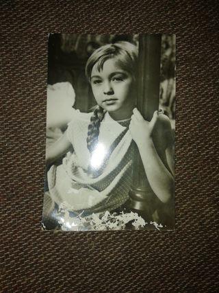 """foto de Marisol """"ha llegado un ángel"""" 1961"""