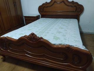 DORMITORIO clásico madera maciza