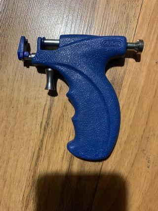 pistola de perforación+pendientes