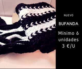 Bufanda Blanco y Negro