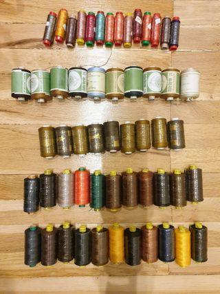 Bobinas de hilo para coser