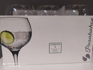 copas de balón gin tonic