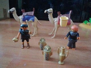 playmobil ladrones egipcios