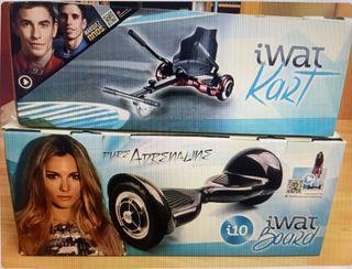 Iwatboard i10 + Iwatkart