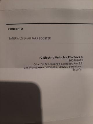 bateria e-twow 36v 14 ah electric scooter