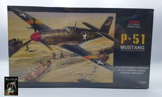 """ACCURATE MINIATURES"" MAQUETA P-51 MUSTANG"
