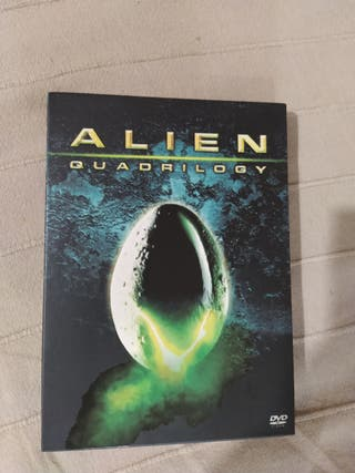 alien quadrilogy como nuevo dvd
