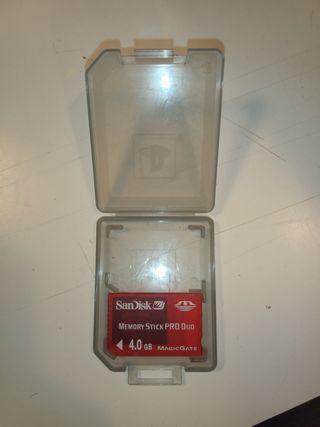 tarjeta de memoria PSP 1