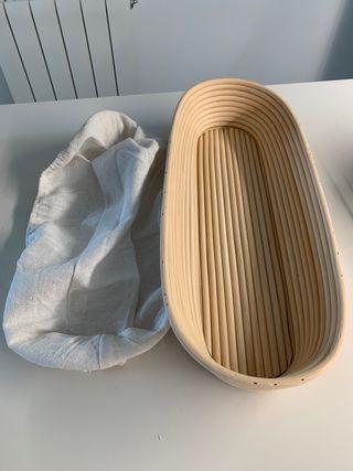 Baneton molde de pan ovalado