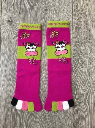 Calcetines con dedos nuevos