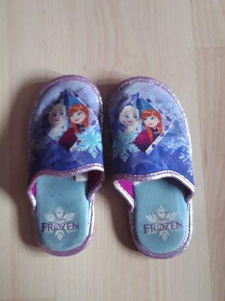 zapatillas frozen numero 30/32