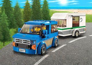 Furgoneta y caravana LEGO 60117