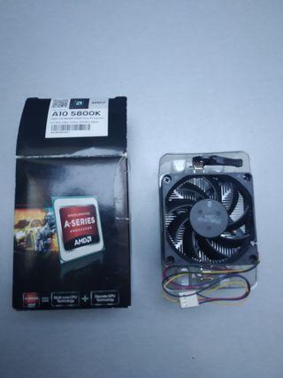 Disipador Procesadores AMD A6, A8, y A10