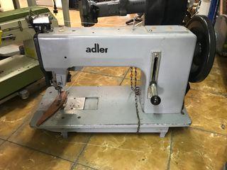 Máquina de coser Adler de doble arrastre