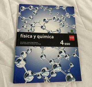 libro física y química 4 eso savia SM