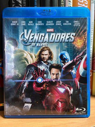 Vengadores de Marvel Bluray
