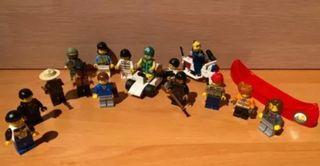 LOTE DIVERSAS FIGURAS LEGO
