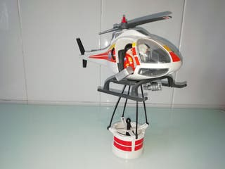 Helicóptero Playmobil guardacostas