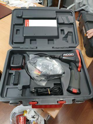 cámara para inspección de tuberias