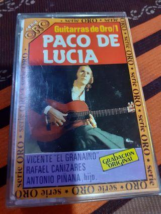 Paco de Lucia guitarras de oro