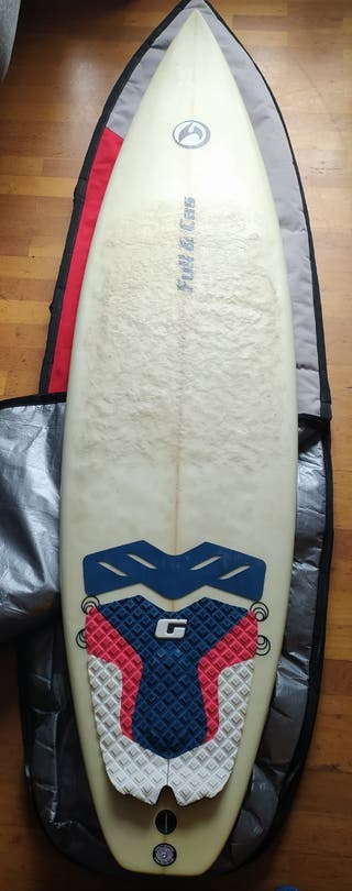 Tabla de Surf Full & Cas 6.2""