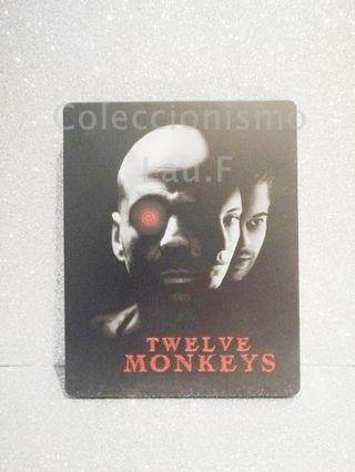 Steelbook Bluray Doce Monos Coleccionista