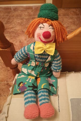 Peluche Payaso Crochet