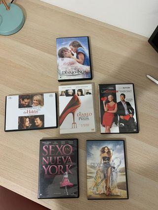 Pack películas