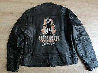 Chaqueta de cuero original Bultaco L Cafe Custom