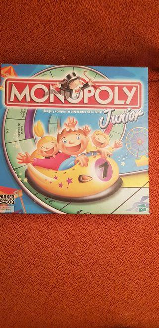 Monopoly juvenil 20 años antiguo
