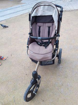 silla de bebé para corredores.
