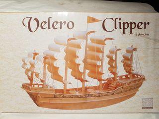 Maqueta de barco velero