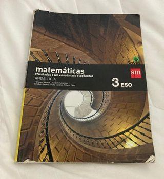 matemáticas 3 eso SM Savia