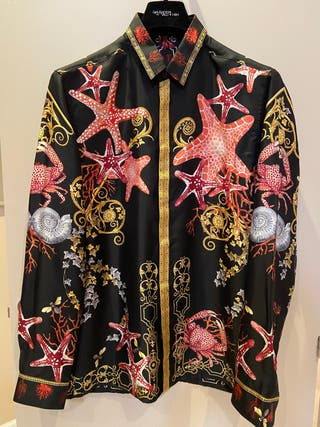 Camisa Versace seda