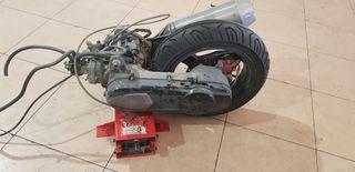 Motor jet force