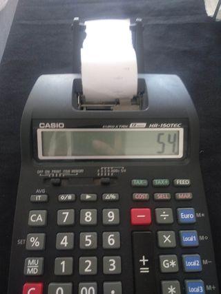 Casio Calculadora Impresora