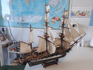 maqueta velero HMS beagle