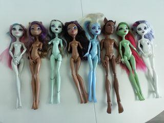 muñecas Monster High para piezas