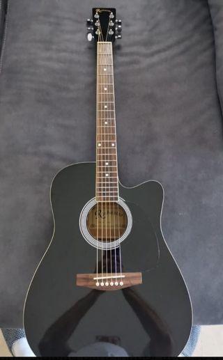 guitarra ACÚSTICA ROCHESTER A-60BK