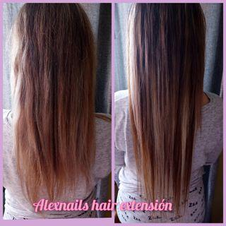 Extensiónes de pelo natural