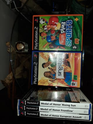 singstar latino y play sports ps2