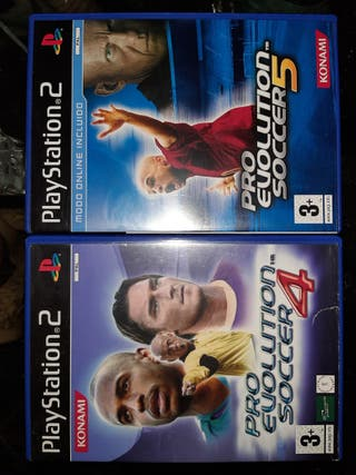 pro evolution soccer 4 y 5 ps2