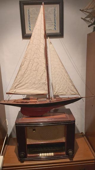 maqueta velero clásico.