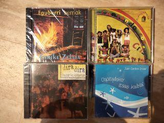 lote CDs vascos