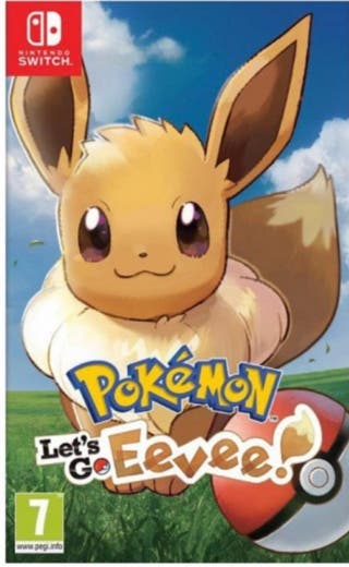 Pokémon Let's Go Eevee NINTENDO SWITCH