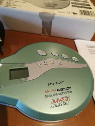 CD MP3 Player reproductor portátil discman