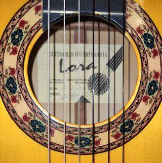 guitarra flamenca Carlos Lora