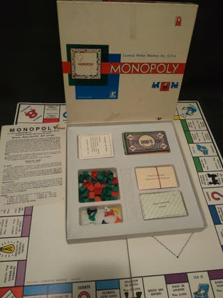 juego Monopoly antiguo