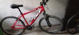 bicicleta bh over