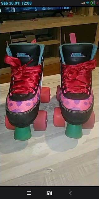 Patines niña, NO FEAR, talla 30.